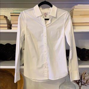 J.Crew white button down shirt